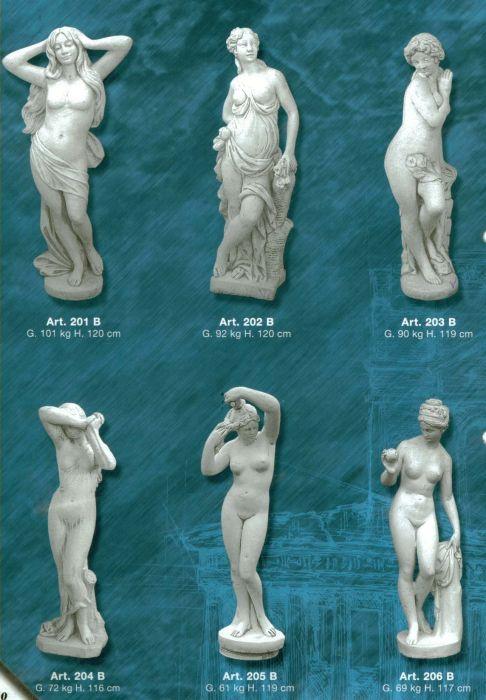 Matrite figurine de gradina