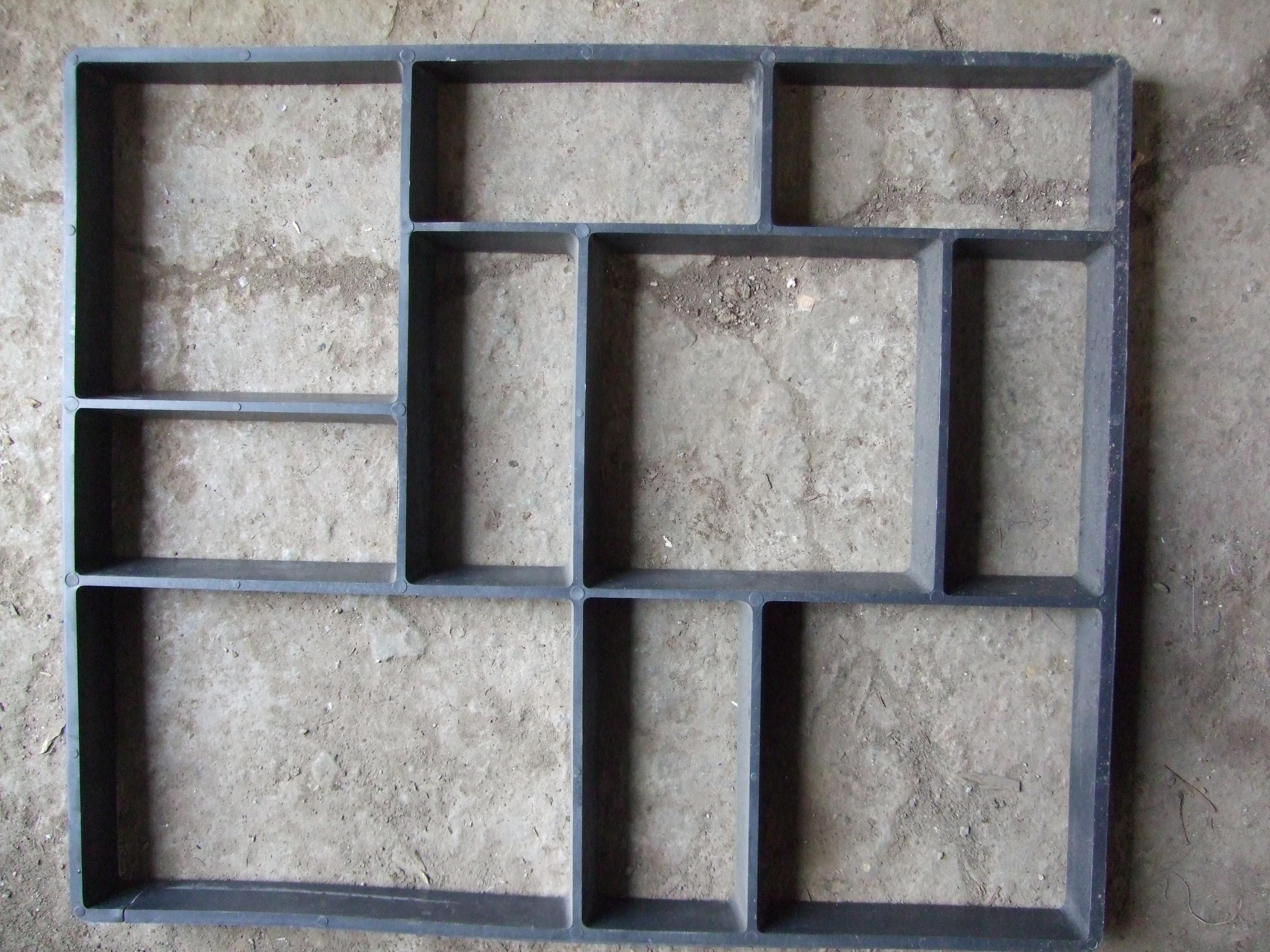 Forme pentru beton amprentat